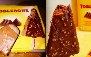You can now buy Toblerone ice creams in the UK and they look delicious