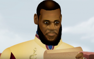 Lebron James mocked in Game of Thrones style cartoon