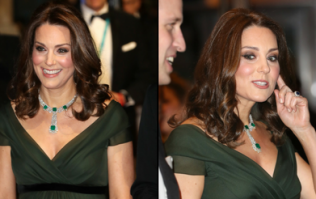 Pregnant Kate Middleton is being torn apart on social media for defying BAFTAs dress code