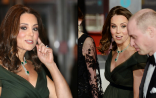 Kate Middleton may have been making a secret signal through her BAFTAs appearance