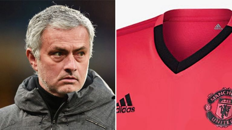 60aa96103 Leaked images show Manchester United will be going electric pink next season