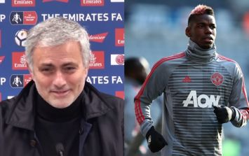 Jose Mourinho has hinted at playing Paul Pogba in his best position