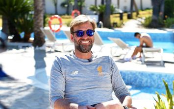 Everyone's a bit freaked out by how 'sexy' Jurgen Klopp's legs are