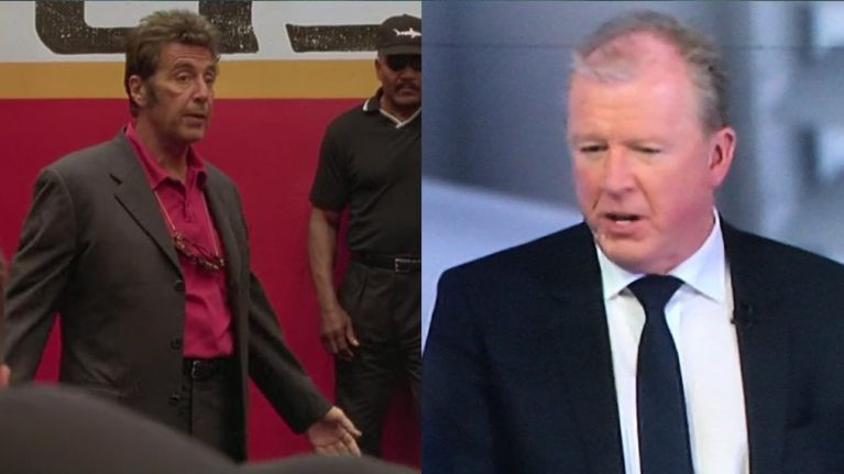 Steve Mcclaren Explains How He Used Al Pacino S Any Given