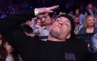 Even Fox Sports acknowledged Nate Diaz's memorable Austin cameo
