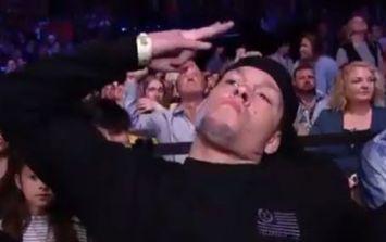 Even Fox Sports acknowledged Nate Diaz's memorable Austin cameo