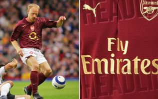 Leaked images show Arsenal are going back to classy 2005/06 style for next season