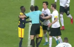 Liverpool-bound Naby Keita sparks brawl during feisty Bundesliga fixture