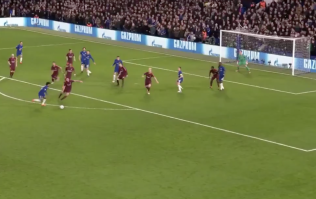WATCH: At the third time of asking, Willian gives Chelsea the lead against Barcelona