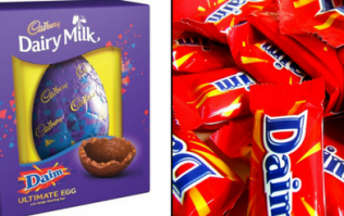Cadbury is selling huge Daim Easter eggs and they look delicious