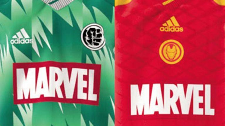 adidas se unió con Marvel para lanzar camisetas especiales en julio