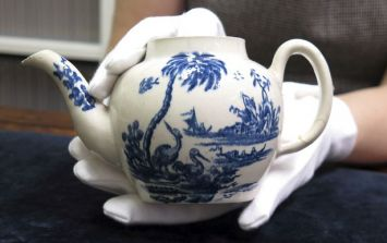The former owner of this teapot bought it for a meagre £15. It just sold for an astronomical price at auction