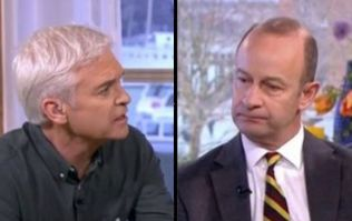 Phillip Schofield erupts and asks ex-UKIP leader savage question on This Morning