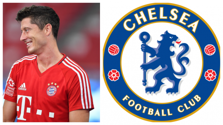 Chelsea are leading the race to sign Robert Lewandowski in the summer