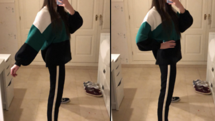 A girl's 'skinny legs' mirror selfie is freaking out the entire internet