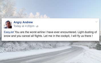 12 insufferable snow-related posts you're going to see on Facebook this week