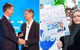 Jeremy Hunt wins humanitarian award for patient safety at event Jeremy Hunt helped organise