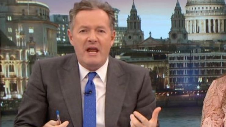 Piers Morgan quit Good Morning Britain last year because he had to 'get up too early'