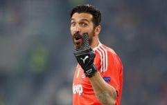 Gigi Buffon is returning to international football
