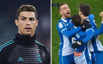 Cristiano Ronaldo omission backfires as Real Madrid lose in the last minute to Espanyol
