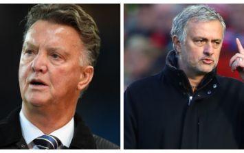 Louis van Gaal blasts Jose Mourinho over Bastian Schweinsteiger treatment