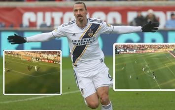Zlatan Ibrahimovic continues to run riot in America