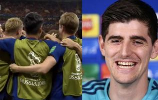 You can guess the joke people made as Thibaut Courtois concedes two goals to Japan
