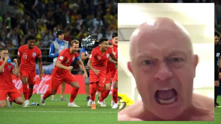 Of all people, Ross Kemp summed up what England's Colombia win meant to a nation