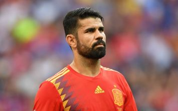 "Spain squad were ""divided"" over Diego Costa's inclusion in the team"