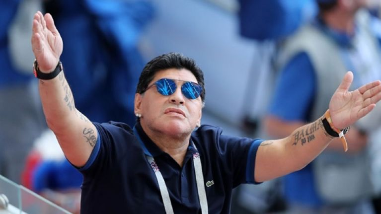 Diego Maradona launches into extraordinary anti-England rant after Colombia win