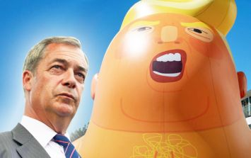 COMMENT: Farage fume over Trump baby blimp is nothing but hot air