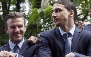 David Beckham has accepted Zlatan Ibrahimovic's friendly bet