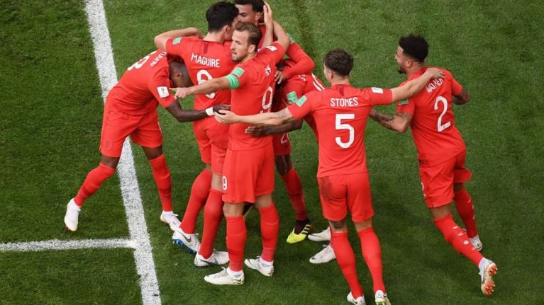 England have reached the World Cup semi-final for the first time in 28 years