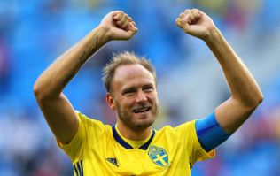 Sweden captain Andreas Granqvist facing another fine from FIFA for his socks