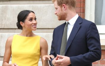 Meghan Markle appears to have started speaking with an awkward British accent