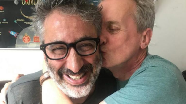 David Baddiel admits he finally believes that football's coming home