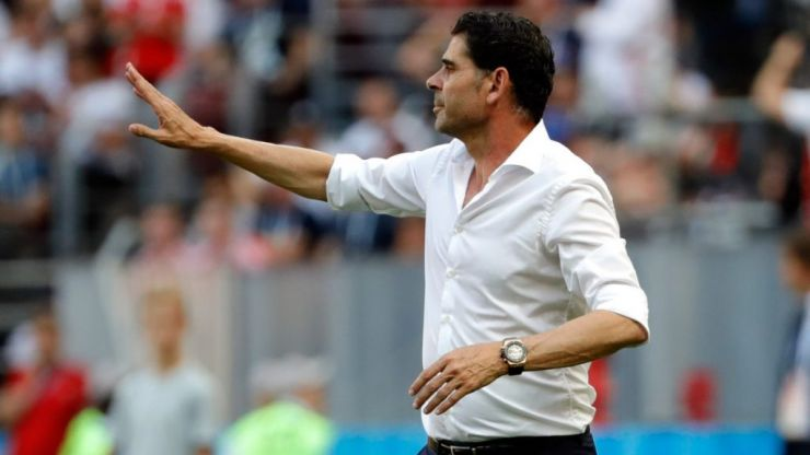 Fernando Hierro steps down as Spain manager after four games in charge