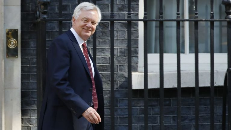 David Davis has resigned as Brexit secretary