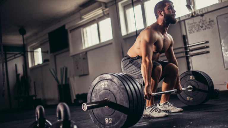 Weightlifting reduces how stressed you get, research shows