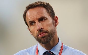 Name the starting XI from Gareth Southgate's first game in charge of England