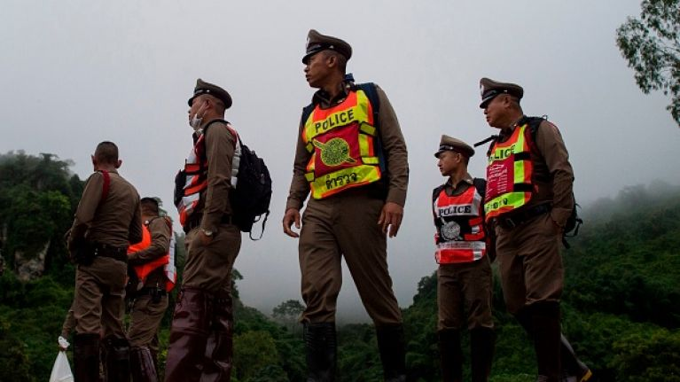 Six boys have now been freed from the Tham Luang cave