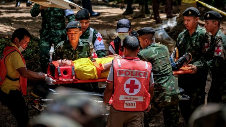 All 12 boys and their coach have now been saved from the cave in Thailand