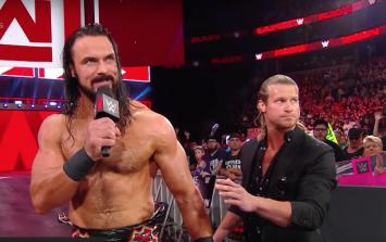 WWE's Seth Rollins called Scottish wrestler Drew McIntyre a sheep-s****** on Raw