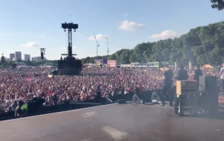 "WATCH: The Lightning Seeds playing ""Three Lions"" in front of 30,000 England fans is as awe-inspiring as you'd expect"
