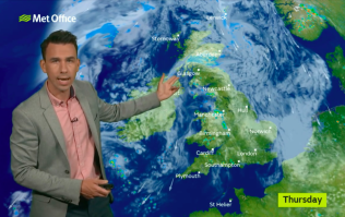 UK weather warning issued with hurricane expected to hit Britain tomorrow