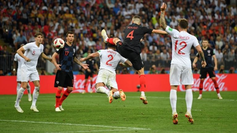 England supporters fume as referee allows Croatia equaliser