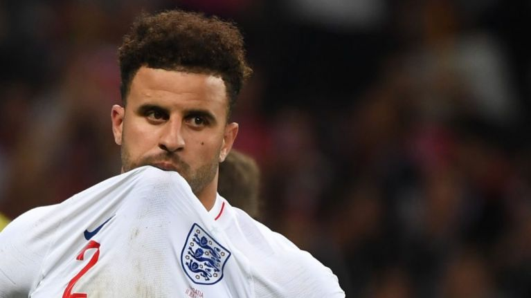 Kyle Walker sends emotional message to nation after World Cup exit