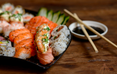 Five reasons why sushi is the best post-workout meal