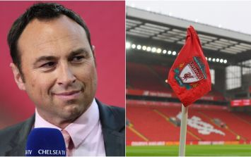 "Liverpool fan branded ""scum"" and ""a disgrace"" live on air by former Chelsea defender"