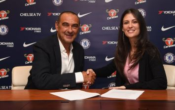 Maurizio Sarri had to address accusations of homophobia and sexism in Chelsea talks
